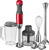 KitchenAid Ensemble Mixeur plongeant Rouge empire