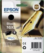 Epson 16 XL Inktcartridge Zwart C13T16314010
