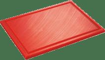 Inno Cuisinno Horeca Planche à découper avec rainure 32,5 cm Rouge