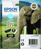 Epson 24XL Cartouche Cyan Clair