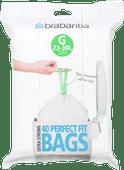 Brabantia Vuilniszakken Code G - 23-30 Liter (40 stuks)