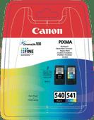 Canon PG-540/CL-541 Cartridges Combo Pack