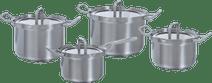 BK Q-linair Master Verre Ensemble de 4 casseroles