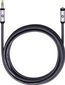 Oehlbach i-Connect J-35 EX 3.5 mm extension cable 3 meter Black