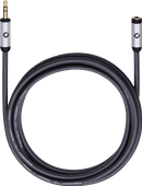 Oehlbach i-Connect J-35 EX 3.5 mm extension cable 5 meter Black