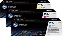 HP 128A Toners Combo Pack