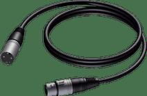 ProCab CAB901 XLR-kabel 0,5 meter