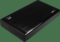 "Ewent EW7055 Harde schijf behuizing 3.5"" SATA SSD/HDD aluminium"