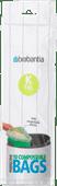 Brabantia Composteerbare Vuilniszakken Code K - 10 Liter (10 stuks)