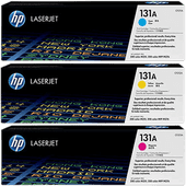HP 131A Toner 3-Pack (U0SL1AM)