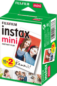 Fujifilm Instax Mini Colorfilm Glossy 10x2 pak