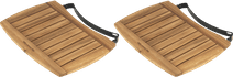 Big Green Egg Planche latérale Acacia Large (2x)
