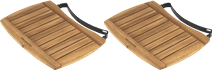 Big Green Egg Planche latérale Acacia Medium (2x)