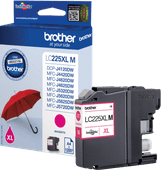 Brother LC-225XL Cartridge Magenta
