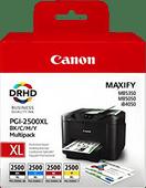 Canon PGI-2500XL Cartridges Combo Pack