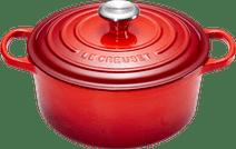 Le Creuset Ronde Stoof-/Braadpan 20 cm Kersenrood