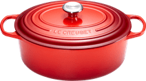 Le Creuset Cocotte Ovale 27 cm Rouge Cerise