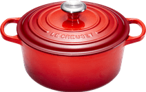 Le Creuset Ronde Stoof-/Braadpan 24 cm Kersenrood