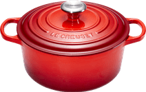 Le Creuset Ronde Stoof-/Braadpan 26 cm Kersenrood