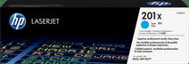 HP 201X Toner Cyan (Grande Capacité)