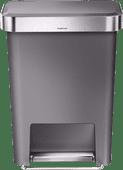 Simplehuman Rectangular Liner Pocket 45 Litres Gris