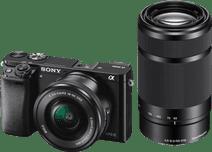 Sony Alpha A6000 Black + PZ 16-50mm OSS + E 55-210mm