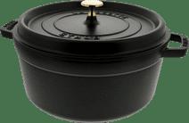 Staub Cocotte Ronde 26 cm Noir