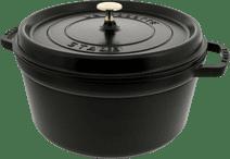 Staub Cocotte Ronde 28 cm Noir