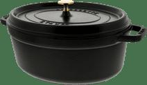 Staub Cocotte Ovale 31 cm Noir