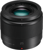 Panasonic Lumix G 25mm f/1.7 Zwart