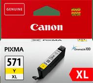 Canon CLI-571XL Cartridge Geel