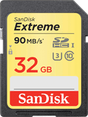 Sandisk SDHC Extreme 32 Go 90 MB/s Class 10