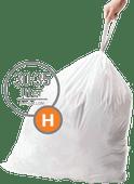 Simplehuman Afvalzakken Code H - 30-35 Liter (60 stuks)