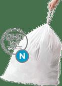Simplehuman Afvalzakken Code N - 45-50 Liter (60 stuks)