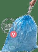 Simplehuman Vuilniszakken Code V - 16-18 Liter (60 stuks)
