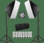 Bresser BR-2245 Set d'éclairage Lumière du jour 1800W