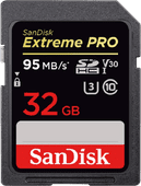 Sandisk SDHC Extreme Pro 32 Go 95 MB/S Class 10
