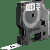 DYMO LW Étiquette Durable D1 Noir-Blanc (12 mm x 5,5 m)