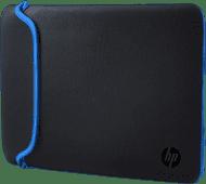 HP 14'' Reversible Sleeve Zwart/Blauw