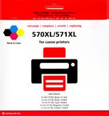 Pixeljet PGI-570/CLI-571 XL 5-Kleuren voor Canon printers (0372C004)