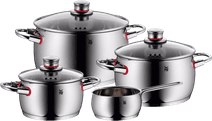 WMF Quality One 4-piece Cookware set with saucepan