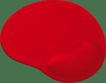 Trust BigFoot Gel Muismat - Rood