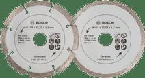 Bosch Diamantschijf 115 mm 2 stuks