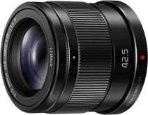 Panasonic Lumix G MFT 42,5mm f/1.7 ASPH O.I.S. Zwart