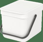 Brabantia Sort & Go 6 Litres Blanc