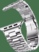 Just in Case Apple Watch 42/44mm Rvs Bandje Zilver