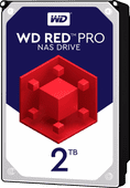 WD Red Pro WD2002FFSX 2 To