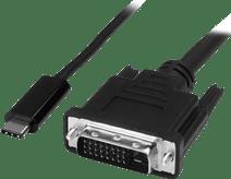 StarTech USB-C naar DVI adapterkabel 2 meter
