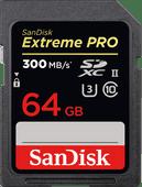 Sandisk SDXC Extreme Pro 64GB 300MB/s C10 UHS-II
