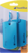 Travel Blue Jelly ID Tag Blue